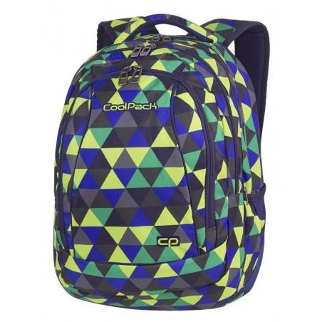 Plecak szkolny CoolPack CP COMBO PRISM ILLUSION kolorowe trójkąty - 2w1 - A505