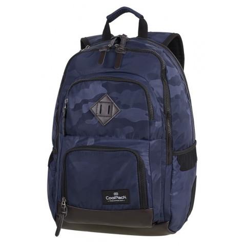 Plecak szkolny CoolPack CP UNIT CAMO NAVY niebieskie moro - A564