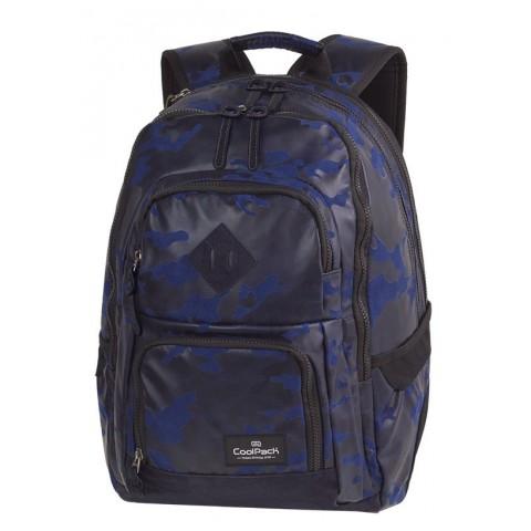 eb30d62159a4c Plecak szkolny CoolPack CP UNIT FLOCK CAMO BLUE granatowe moro - A558