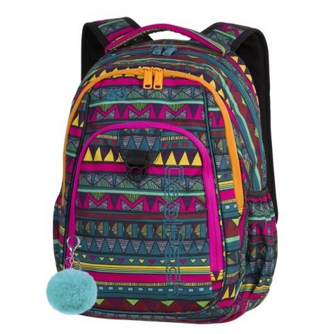 b10573afdafd5 Plecak szkolny CoolPack CP STRIKE MEXICAN TRIP meksykańskie poncho dla  nastolatek - A209 + GRATIS POMPON