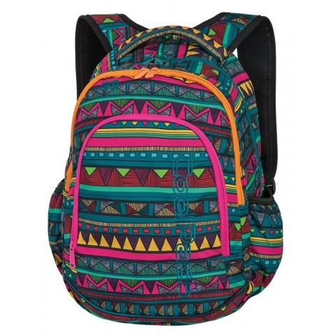 Plecak do klas 1-3 CoolPack CP PRIME MEXICAN TRIP aztecki dla dziewczynki - A210 + GRATIS