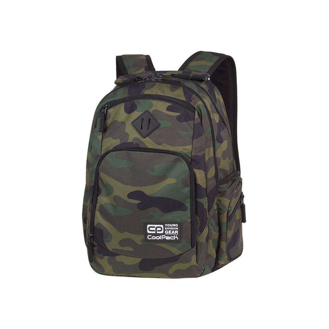 383aafa3d8805 Plecak szkolny COOLPACK CP BREAK CAMOUFLAGE CLASSIC dla nastolatków  klasyczne kolory moro - A386 ...