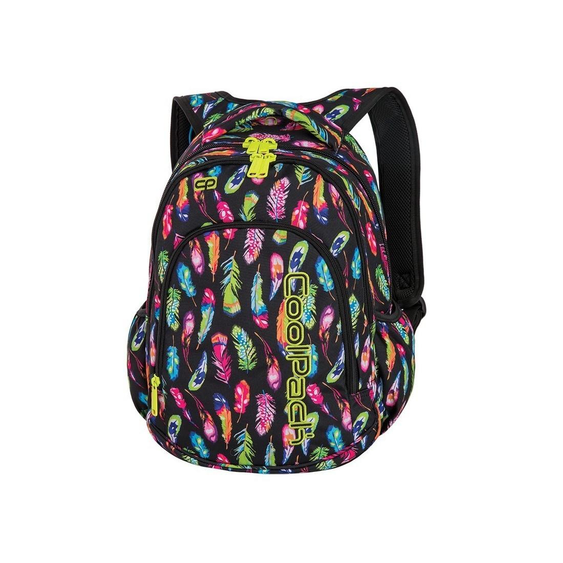 d3b3652b30175 ... Plecak do klas 1-3 CoolPack CP PRIME FEATHERS w kolorowe piórka dla  dziewczynki ...