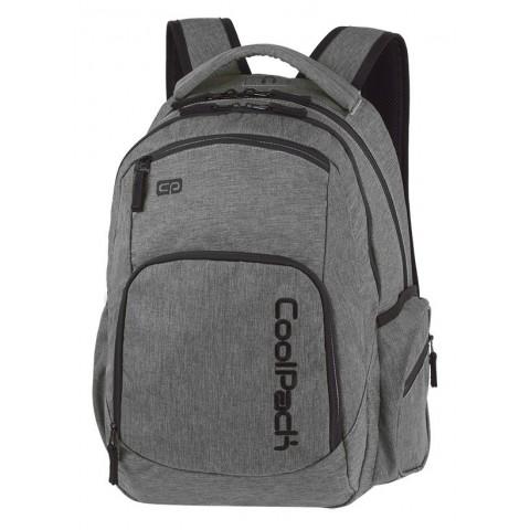 Plecak młodzieżowy COOLPACK CP BREAK SNOW GREY/SILVER szary denim A312