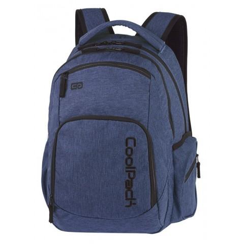 Plecak młodzieżowy COOLPACK CP BREAK SNOW BLUE/SILVER niebieski denim A321