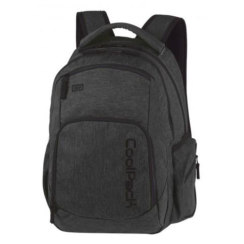 Plecak czarny dla chłopaka COOLPACK CP BREAK SNOW BLACK/SILVER