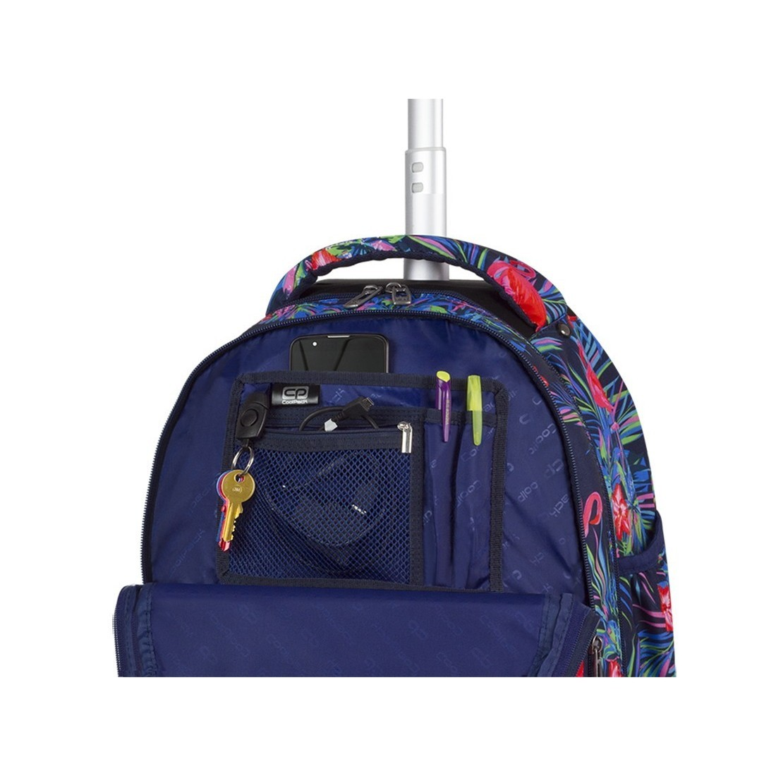 0fe5a6b0af6f5 Plecak szkolny CoolPack CP Combo Pink Flamingo - 2w1 dla dziewczyn ...