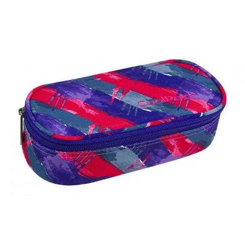 947d4996adc99 Piórnik szkolny   etui czerwono - niebieski młodzieżowy CoolPack CP CAMPUS  Vibrant Lines