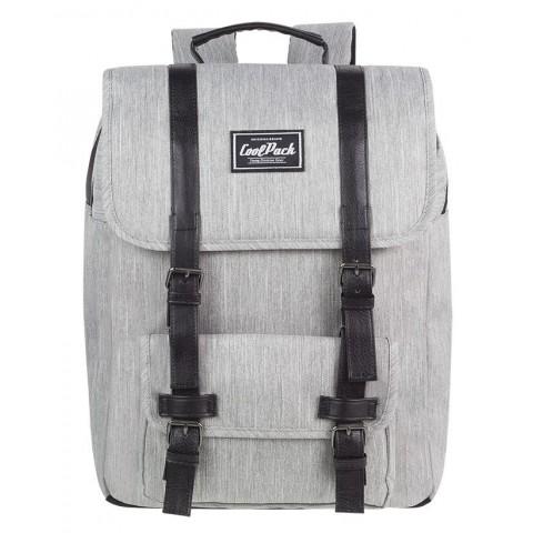Plecak miejski CoolPack CP TRAFFIC GREY delikatna szarość retro - A130