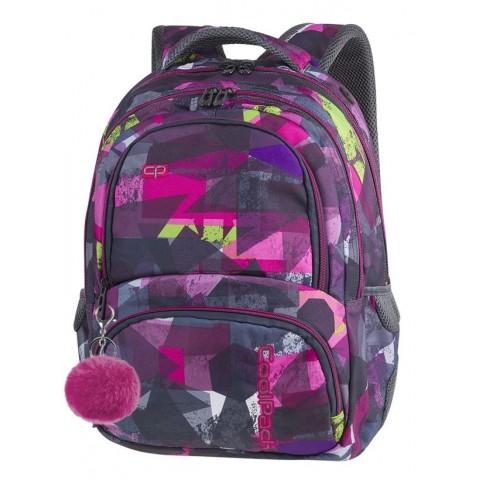 Plecak szkolny CoolPack CP SPINER PINK ABSTRACT różowa abstrakcja A080