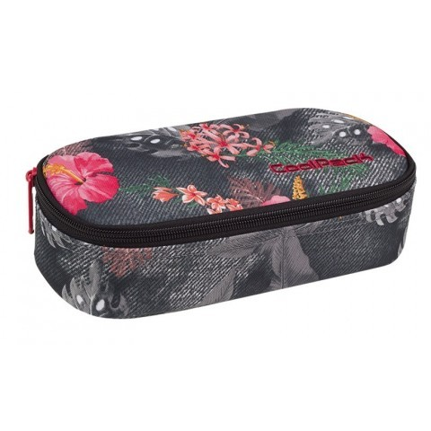 Piórnik jednokomorowy / etui CoolPack CP CAMPUS CORAL HIBISCUS kwiaty - A034