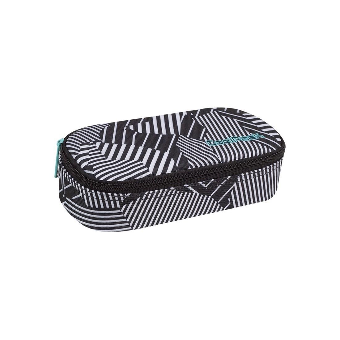 af44f19af7a5 Piórnik szkolny   etui czarno - biała zebra CoolPack CP CAMPUS Black   White  ...