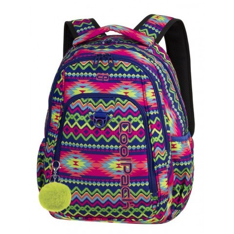 07f68fbc9deda Plecak szkolny CoolPack CP STRIKE BOHO ELECTRA kolorowe zygzaki dla  nastolatki - 781+ GRATIS POMPON