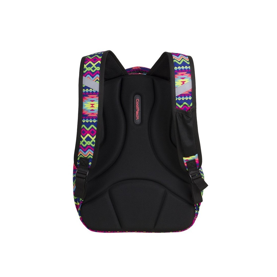 124f630f0e598 ... Plecak szkolny CoolPack CP STRIKE BOHO ELECTRA kolorowe zygzaki  profilowane plecy - 781+ GRATIS POMPON