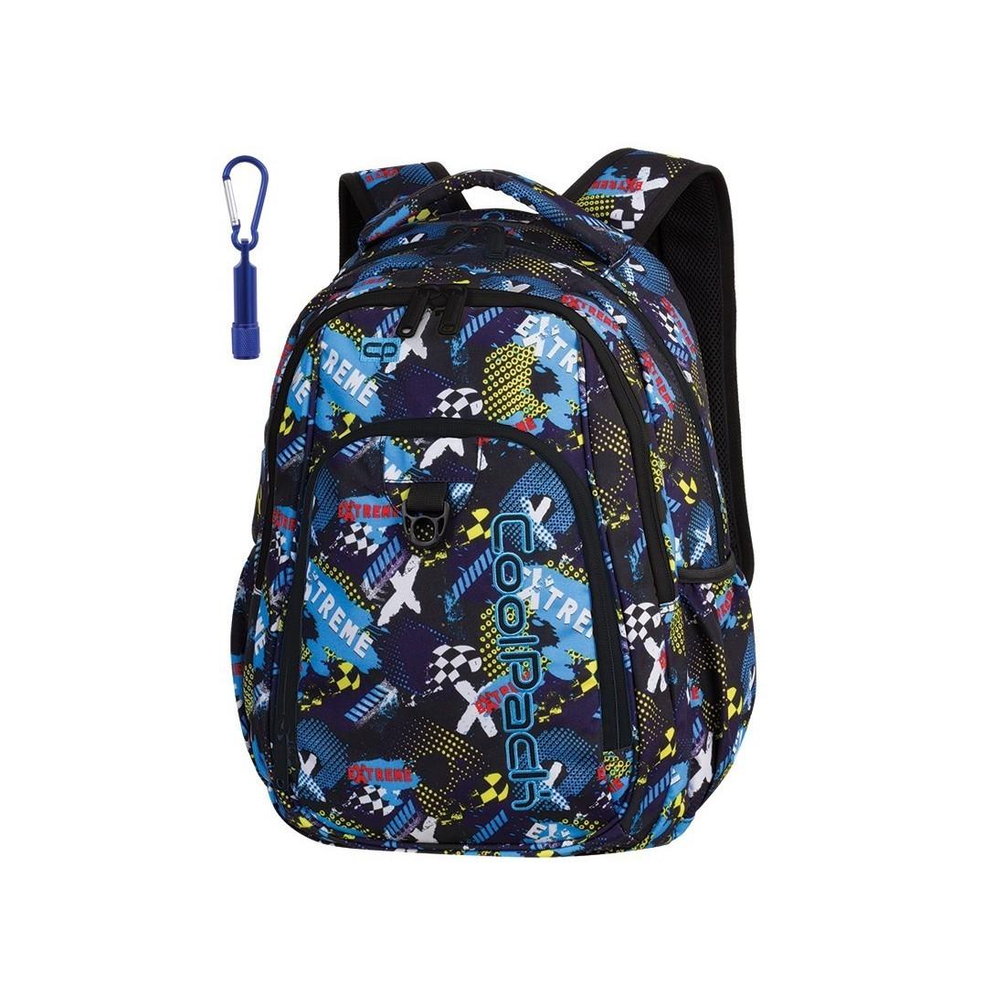 ccfbf189812aa Plecak szkolny CoolPack CP STRIKE EXTREME wyścigi dla ucznia - A278 + GRATIS  POMPON