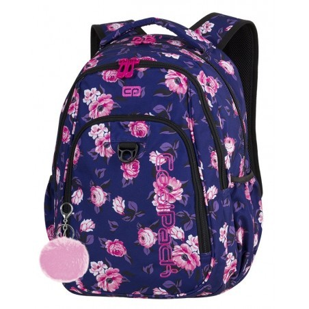 aacaa6b0e482d Plecak szkolny CoolPack CP STRIKE ROSE GARDEN róże na granatowym tle - 807  + GRATIS POMPON