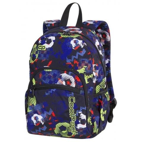 Plecak mały MINI FOOTBALL najmniejszy model marki CoolPack dla chłopaka kolorowe piłki - A189