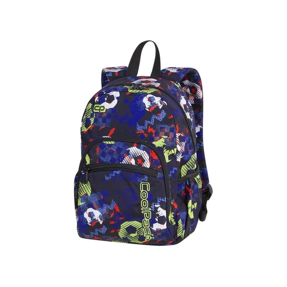 3fc41aec39b3b Plecak mały MINI FOOTBALL najmniejszy model marki CoolPack dla chłopaka  kolorowe piłki - A189