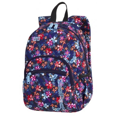 Plecak mały CP MINI TROPICAL BLUISH najmniejszy model marki CoolPack kwiecista łąka dla dziewczyny - A225