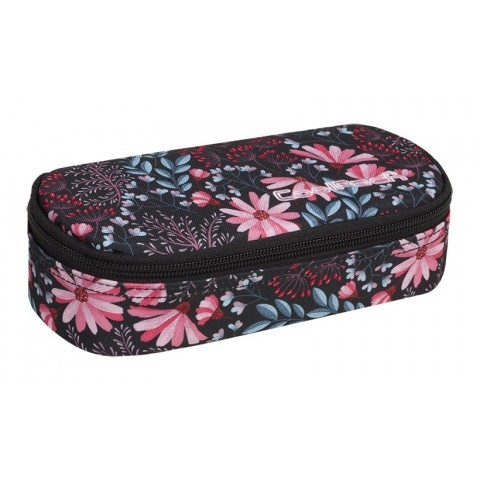 Piórnik jednokomorowy / etui CoolPack CP CAMPUS CORAL BLOSSOM pastelowe kwiaty - A274