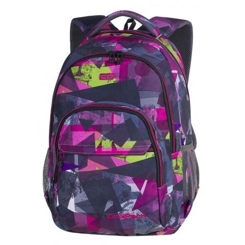 7b663eb32315f Plecak szkolny CoolPack CP BASIC PLUS PINK ABSTRACT różowa abstrakcja dla  dziewczyn - A143
