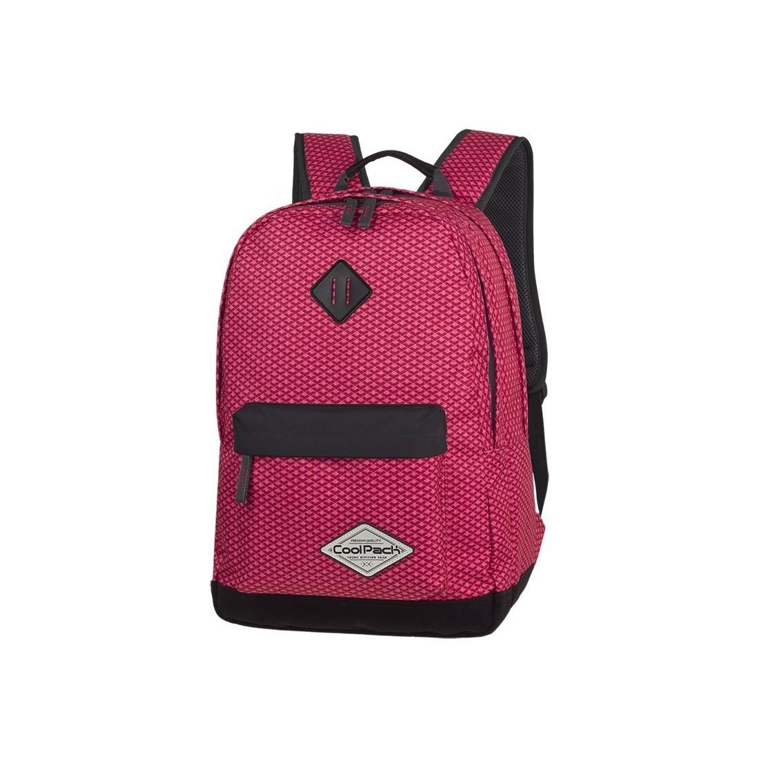 Plecak młodzieżowy CoolPack CP SCOUT CORAL NET koralowy - A118