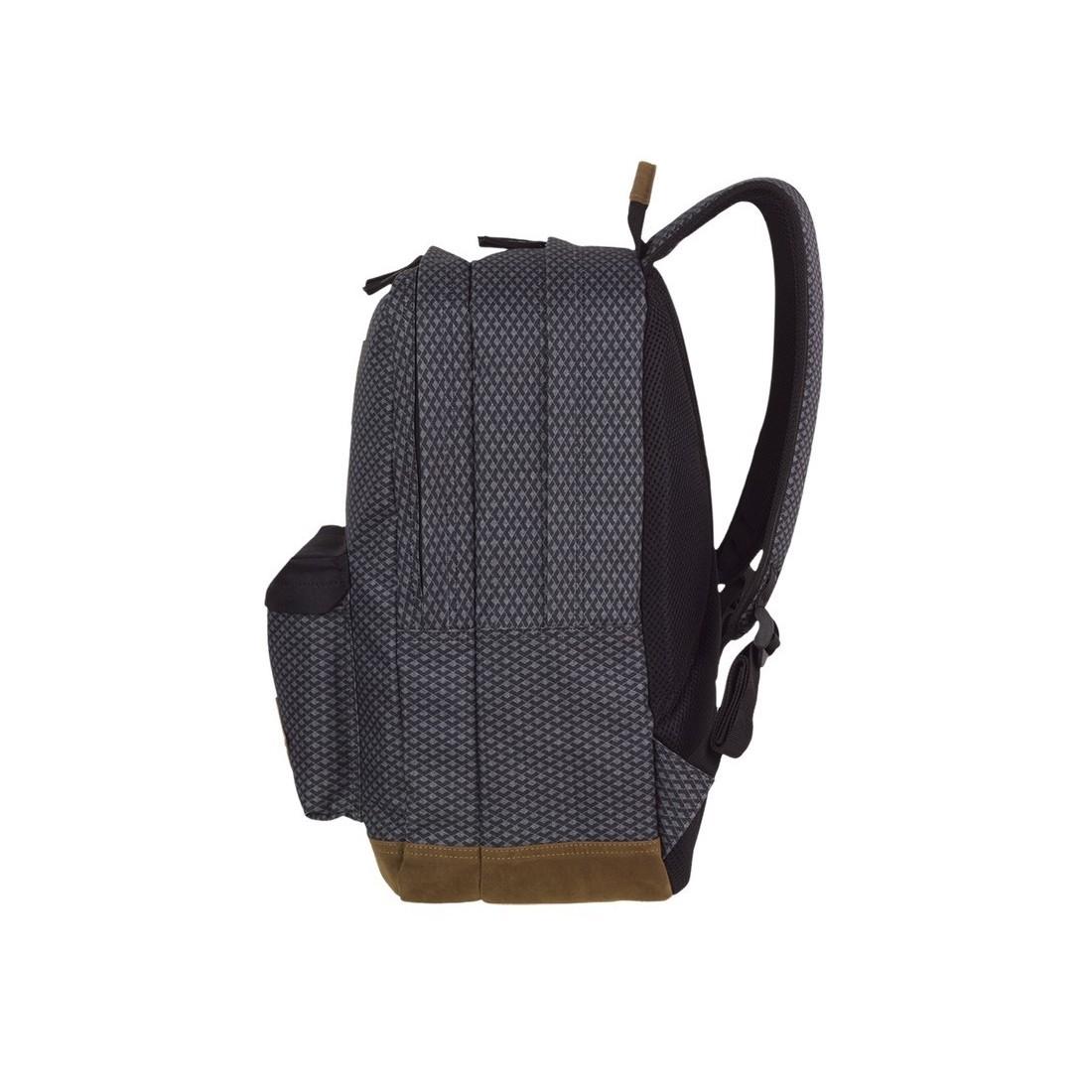Plecak młodzieżowy CoolPack CP SCOUT DARK GREY NET ciemna szarość - A122