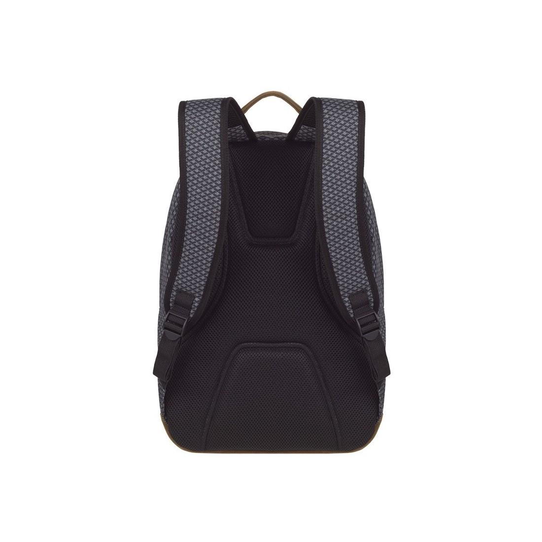 Plecak młodzieżowy CoolPack CP SCOUT DARK GREY NET ciemna szarość anatomicznie profilowane plecy - A122