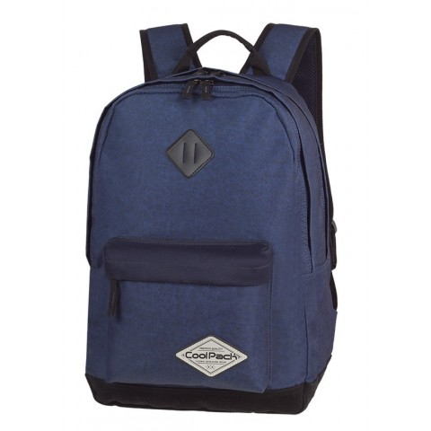 2a8929e3ae890 Plecak młodzieżowy CoolPack CP SCOUT SHABBY NAVY brudny granat - A117