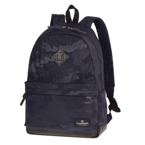Plecak miejski CoolPack CP STREET CAMO BLACK moro czarne - A561