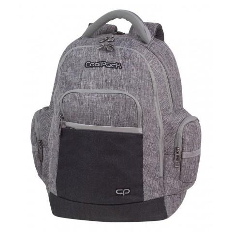 Plecak szary młodzieżowy CoolPack CP BRICK COLOR FUSION GRAY