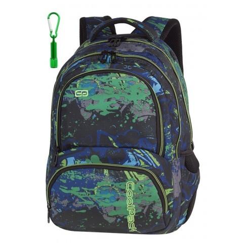 Plecak szkolny CoolPack CP SPINER SPLASH rozchlapane farby A069