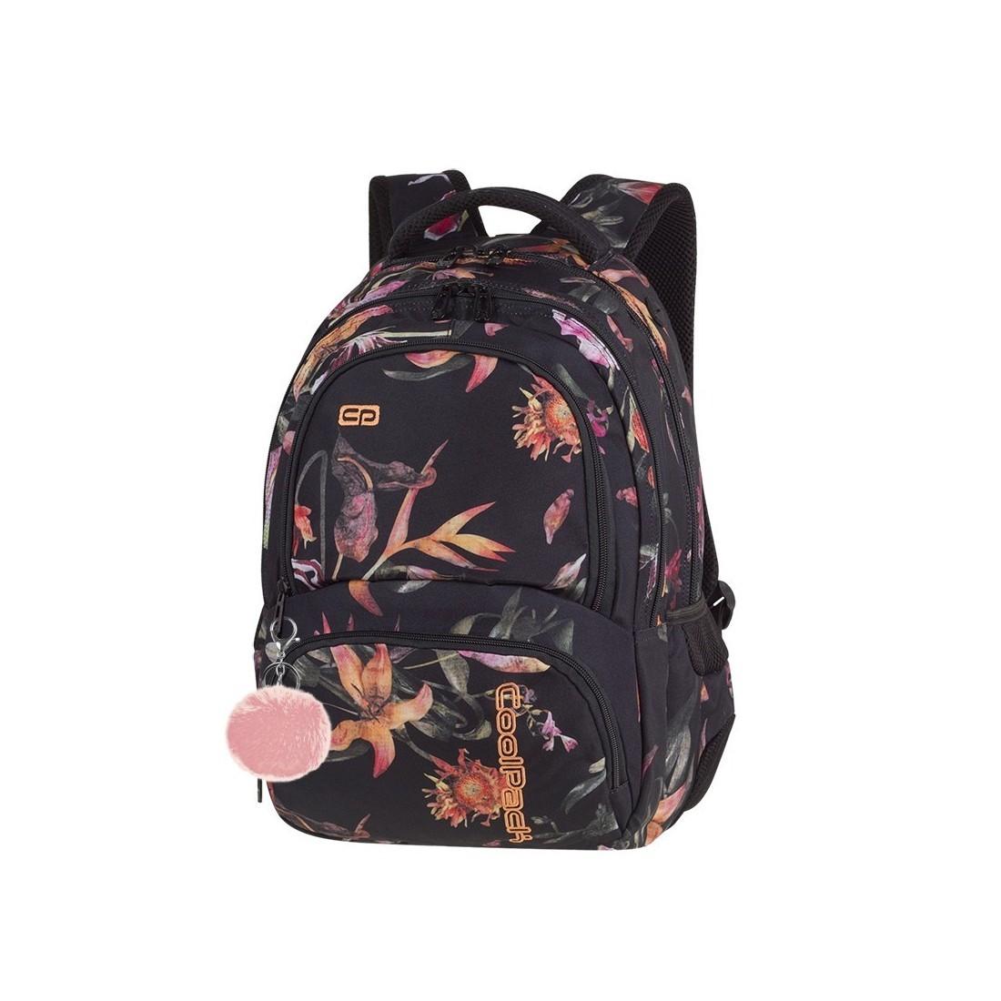 d0514d3d6ae4e Plecak szkolny CoolPack CP Spiner Lilies kwiaty lilii dla dziewczyny ...