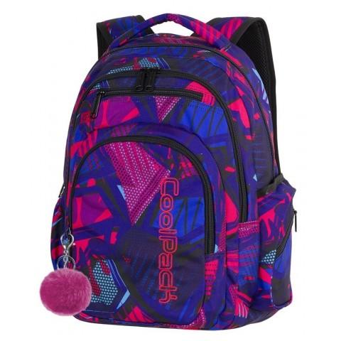 Plecak szkolny CoolPack CP FLASH CRAZY PINK ABSTRACT różowa abstrakcja - A284