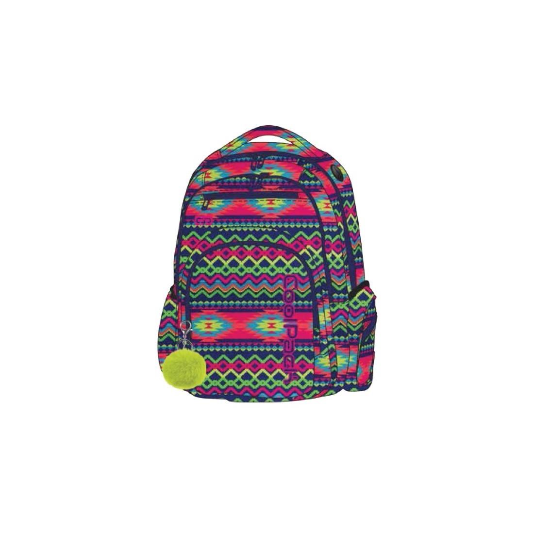96e0d610861b2 Plecak szkolny CoolPack CP FLASH BOHO ELECTRA elektryczny dla nastolatki -  A473
