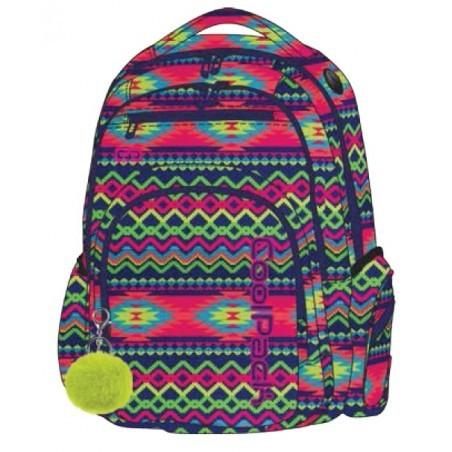 5bd410c3d387a Plecak szkolny CoolPack CP FLASH BOHO ELECTRA elektryczny dla dziewczyn -  A473 + POMPON