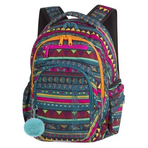 Plecak szkolny CoolPack CP FLASH MEXICAN TRIP meksykański wzór dla młodzieży - A208 + gratis