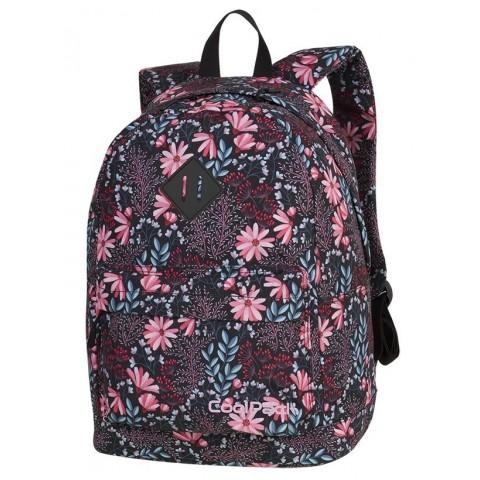 Plecak miejski CoolPack CP CROSS EVA CORAL BLOSSOM kwitnąca łąka, koral dla dziewczyn - A271