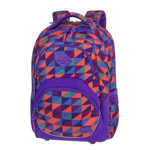 Plecak szkolny ergo CoolPack CP VIPER TRIANGLE MOSAIC kolorowe trójkąty abstrakcja - A581