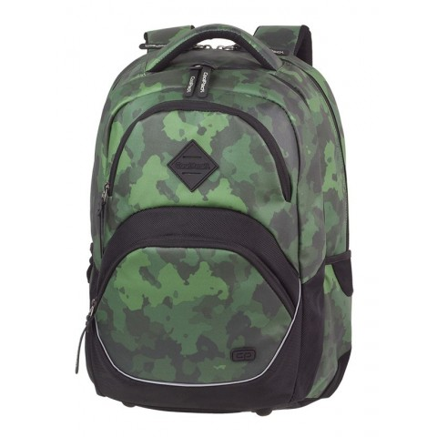 Plecak szkolny ergo CoolPack CP VIPER CAMO GREEN zielone wzory moro - A579