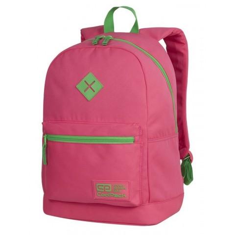 Plecak różowy neon dla dziewczyny CoolPack CP CROSS EVA NEON RUBIN