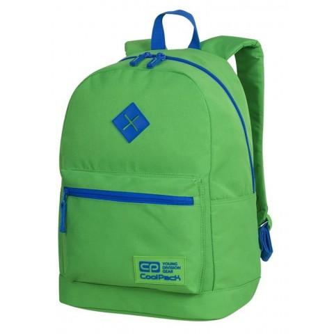 Plecak zielony młodzieżowy CoolPack CP CROSS EVA NEON GREEN