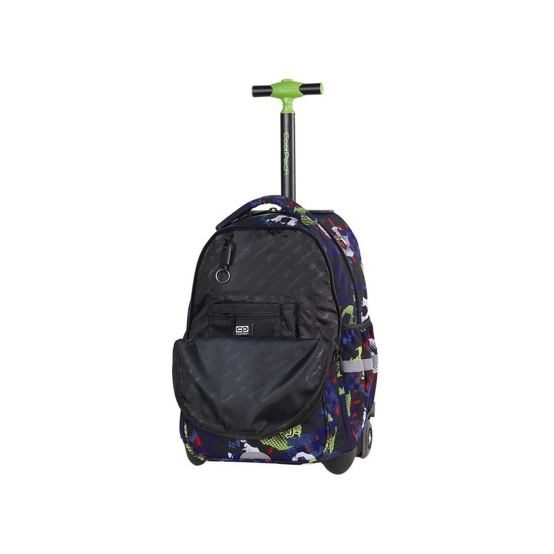 4eb6a54813765 Plecak na kółkach w piłki do szkoły 3 przegrody Coolpack CP Junior ...