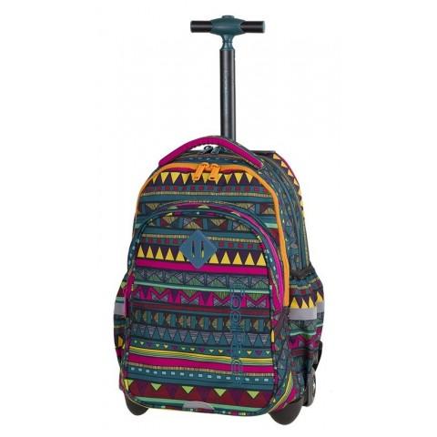 Plecak na kółkach meksykański wzór CoolPack CP JUNIOR MEXICAN TRIP - A213 + ŚNIADANIÓWKA