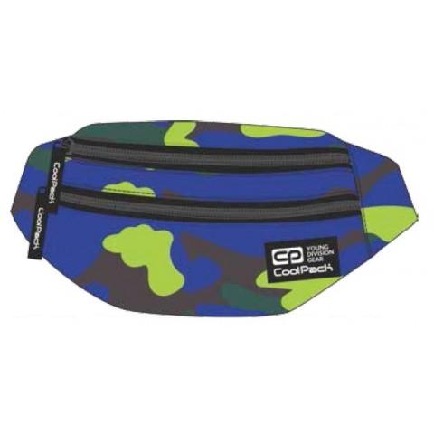 Saszetka nerka torba na pas CoolPack CP MADISON CAMOUFLAGE LIME A355