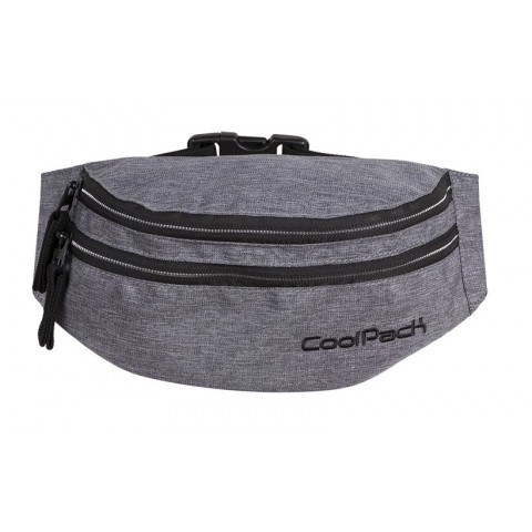 Saszetka nerka torba na pas CoolPack CP MADISON SNOW GREY/SILVER
