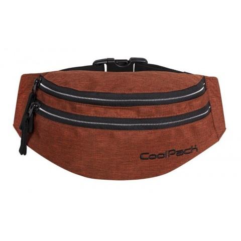 Saszetka nerka torba na pas CoolPack CP MADISON SNOW BRICKY/SILVER
