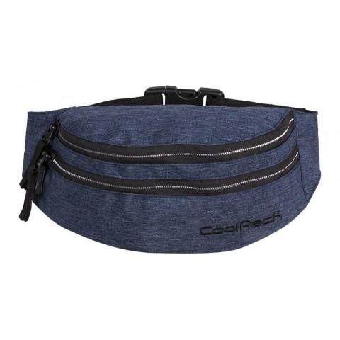 Saszetka nerka torba na pas CoolPack CP MADISON SNOW BLUE/SILVER