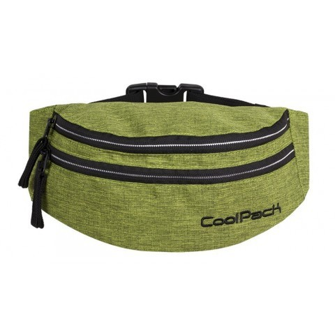 Saszetka nerka torba na pas CoolPack CP MADISON SNOW LIME/SILVER