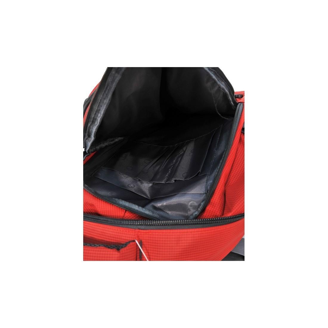 Plecak młodzieżowy czerwony na laptop - plecak-tornister.pl